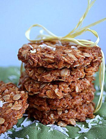 ciasteczka owsiane z wiórkami kokosowymi, ciasteczka owsiane z kokosem, owsiane ciasteczka, ciastka owsiane,