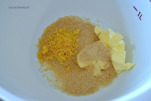 babeczki cytrynowe z kremem, babeczki cytrynowe na wielkanoc, babeczki z kremem czekoladowym, babeczki cytrynowe