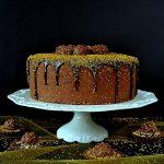 tort rocher, tort ferrero rocher, tort z nutellą, tort z orzechami, ferrero rocher