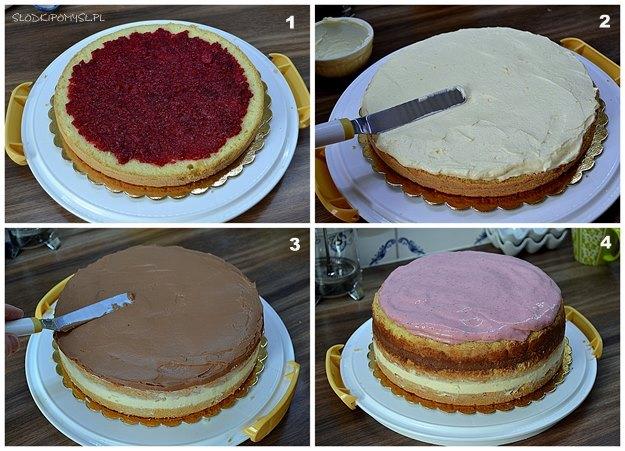 tort dla dziewczynki, różowy tort, drip z białej czekolady, tort z kwiatami, tort urodzinowy,