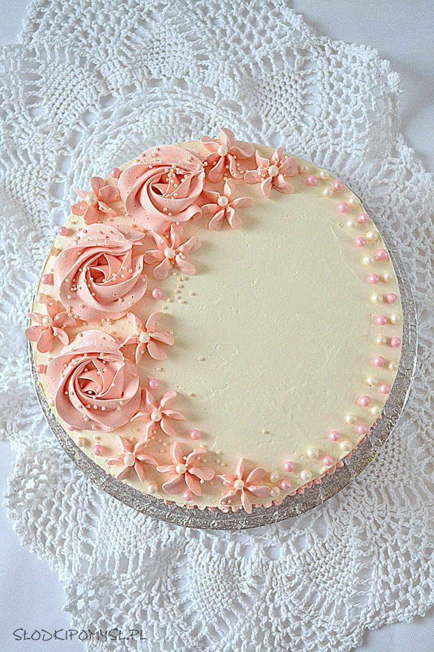 kokosowy tort z malinami, tort kokosowy, tort dla dziewczynki, tort rafaello, śmietanka kokosowa, maliny,