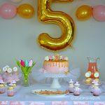 Urodziny baletnicy – przyjęcie urodzinowe Karolinki