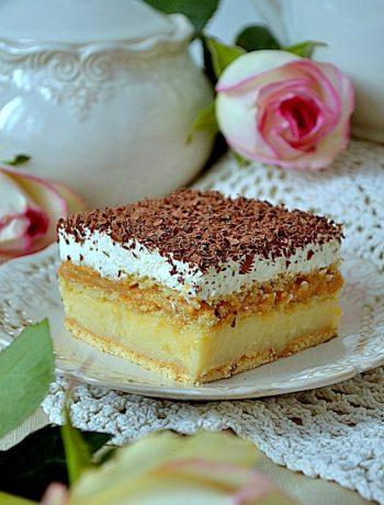 ciasto toffi bez pieczenia, krakersik, ciasto kajmakowe, ciasto z masą kajmakową, ciasto bez pieczenia,