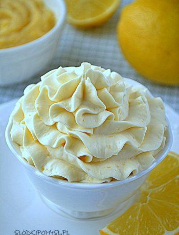 cytrynowy krem, krem cytrynowy, cytrynowy krem do tortu, cytrynowy krem z lemon curd, krem cytrynowy z lemon curd, krem z cytrynami,