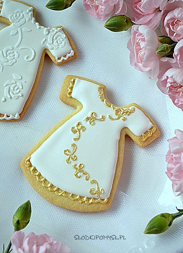 ciasteczka na chrzest, ciasteczka sukienki, ciastka na chrzciny, ciastka sukienki na chrzest, lukrowane ciasteczka, ciastka z lukrem,